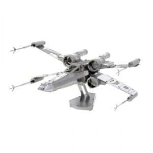 Idea regalo Modelli 3D di Star Wars in metallo – X-Wing Fighter