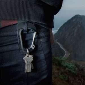 Idea regalo Moschettone Nomad  con cavo di ricarica – Mikro-USB a 29 €