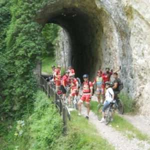 Idea regalo Tour guidato in mountain bike della Vecchia Ferrovia Spoleto Norcia – Umbria