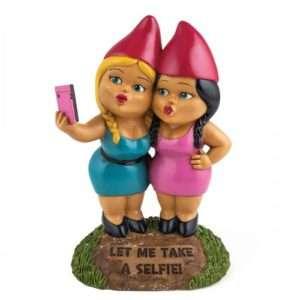 Idea regalo Nani da giardino Selfie a 24 €