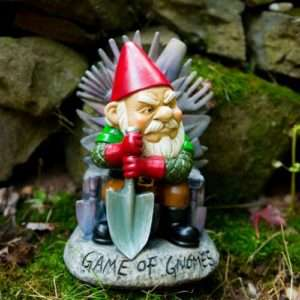 Idea regalo Nano da Giardino  Game Of Gnomes
