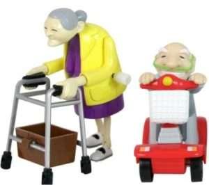 Idea regalo Nonnetti motorizzati