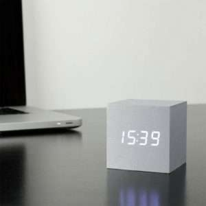 Idea regalo Orologio Cube Click Clock
