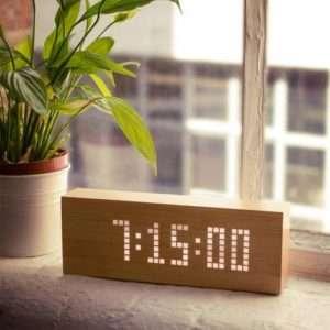 Idea regalo Orologio Sveglia Click Message Clock