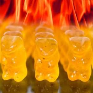 Idea regalo Orsetti Gommosi Piccanti Hot Gummy Bear a 9 €