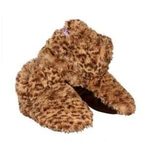 Idea regalo Pantofole Riscaldanti – Leopardo M a 25 €