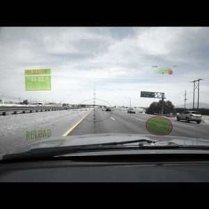 Idea regalo Parabrezza con sistema di intrattenimento – Head Up Display