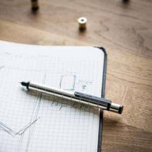 Idea regalo Penna Magnetica Polar Pen – Argento