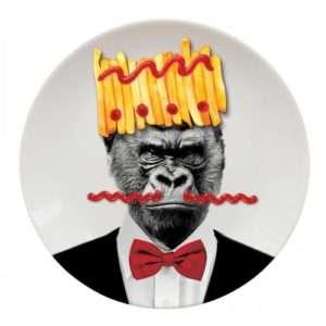 Idea regalo Piatti Selvaggi – Gorilla a 14 €