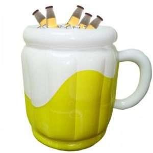 Idea regalo Porta Birra Gonfiabile – Bicchiere di birra a 10 €