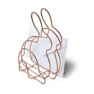 Regalo Portalettere da tavolo a forma di coniglietto