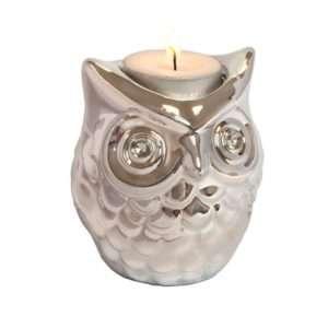 Regalo Gufo – Porta candela