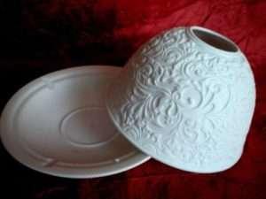 Regalo Portacandela di porcellana