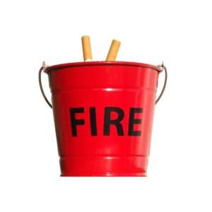 Regalo Posacenere a secchiello FIRE