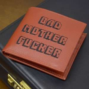 Idea regalo Portafogli Bad Mother Fucker a 19 €