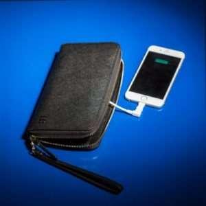 Idea regalo Portafoglio Caricabatteria per Smartphone