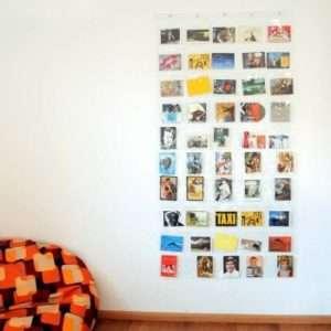 Regalo Portafoto da parete con 50 tasche