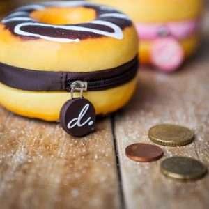 Idea regalo Portamonete Donut Profumati – Cioccolata