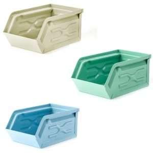 Regalo Portaoggetti da scrivania Container in metallo