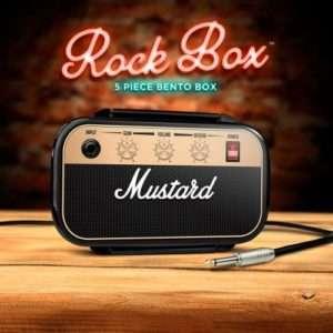 Idea regalo Portapranzo Mustard Rock & Roll a 15 €