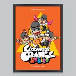 Idea regalo Poster Clockwork Orange Babies Di Butcher Billy a 24 €