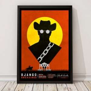 Idea regalo Poster Django Unchained di Matt Needle
