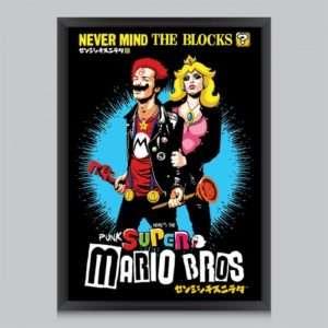 Idea regalo Poster Never Mind The Blocks Di Butcher Billy