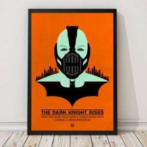 Idea regalo Poster The Dark Knight Rises di Matt Needle a 24 €