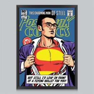 Idea regalo Poster This Charming Man of Steel Di Butcher Billy