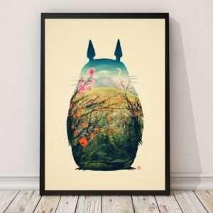 Idea regalo Poster Tonari Na Totoro Di Victors Beard