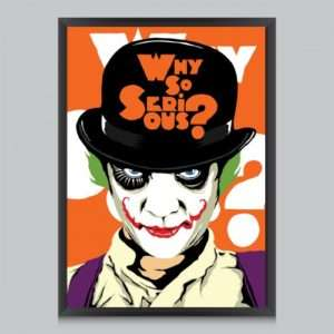 Idea regalo Poster Why So Serious Di Butcher Billy a 24 €
