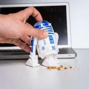 Idea regalo R2D2 Cleaner – aspirapolvere da scrivania a 22 €