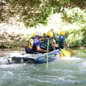 Idea regalo Rafting + percorso avventura – Serravalle di Norcia, Umbria