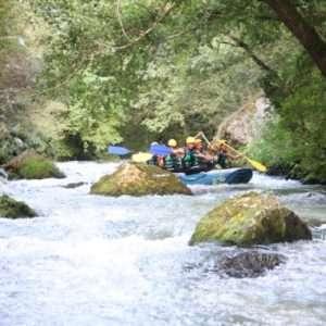 Idea regalo Rafting sul fiume – Serravalle di Norcia, Umbria a 38 €