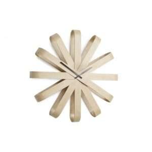 Regalo Ribbonwood – orologio da parete in legno