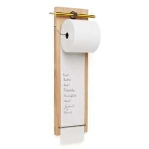 Regalo Rotolo di carta con supporto per lista della spesa