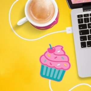Idea regalo Scaldatazze USB Cupcake a 15 €