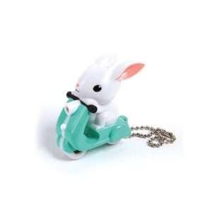 Idea regalo Scooter Bunny – Portachiavi con luce LED