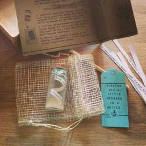 Idea regalo Set Messaggio In Bottiglia – Ancora a 17 €