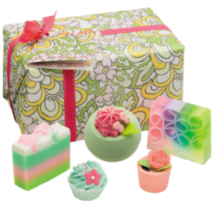 Idea regalo Set sali e saponi da bagno Boho Belle