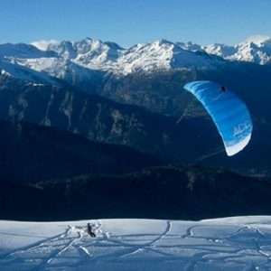 Idea regalo Conosci lo Snowkite – Valle d`Aosta a 99 €