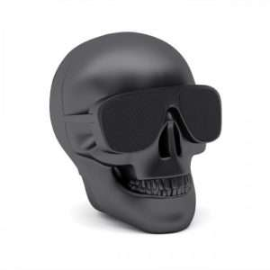 Idea regalo Speaker Bluetooth Aero Skull Nano – Nero opaco