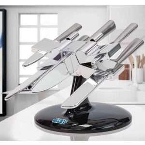Regalo Star Wars: Set di Coltelli X-Wing