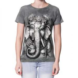 Idea regalo T-shirt Ganesha Big Face – Medium a 29 €