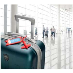 Idea regalo Etichetta per bagaglio Tag Me