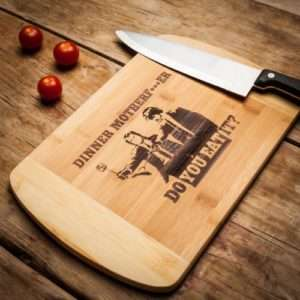 Idea regalo Tagliere Pulp Fiction – Dinner Mother f***er