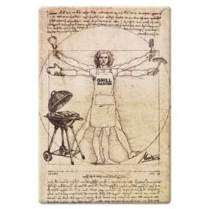 Regalo Tagliere in vetro – Grillmaster Da Vinci