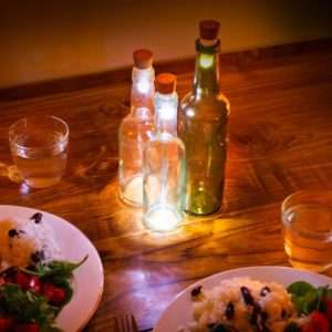 Idea regalo Tappo Luminoso Per Bottiglie