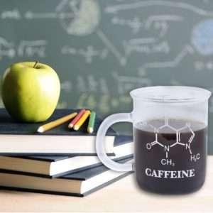 Regalo Tazza – Formula chimica della caffeina