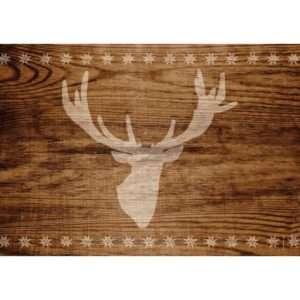 Regalo Tovagliette americane di carta – Cervo